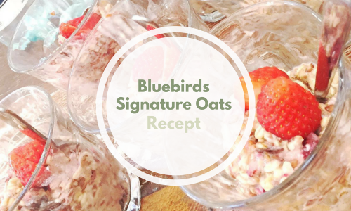 [Recept] Bluebirds Signature Overnight Oats