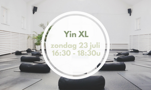 Yin XL Self-observation | 23 juli 16:30 – 18:30u