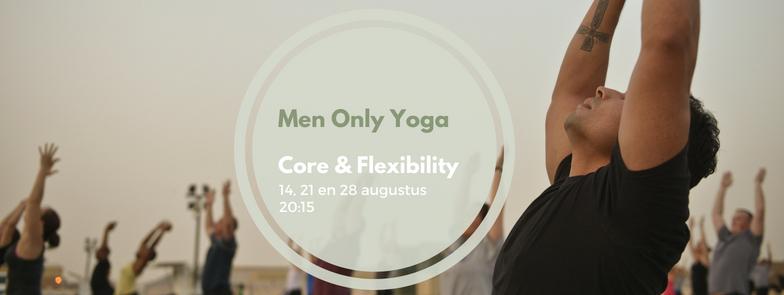 Nieuw: Men Only Yoga @ Bluebirds 14 – 28 augustus 2018