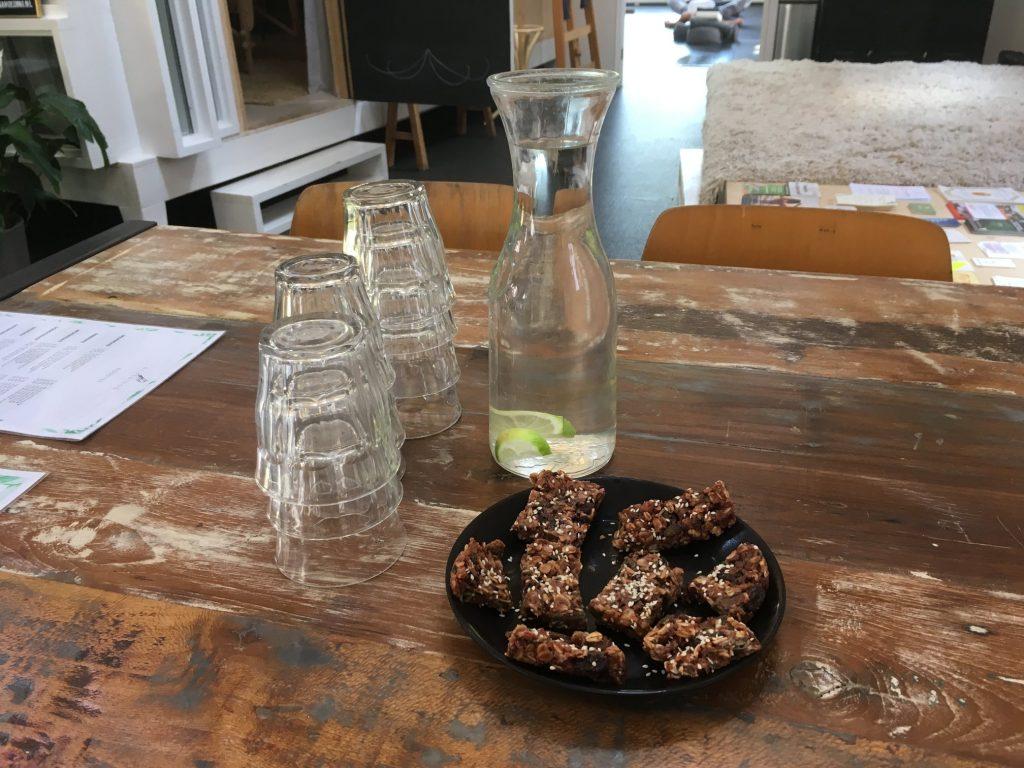 Breakfast bar bluebirds