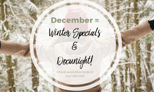 December = Winter Specials & Docu Night