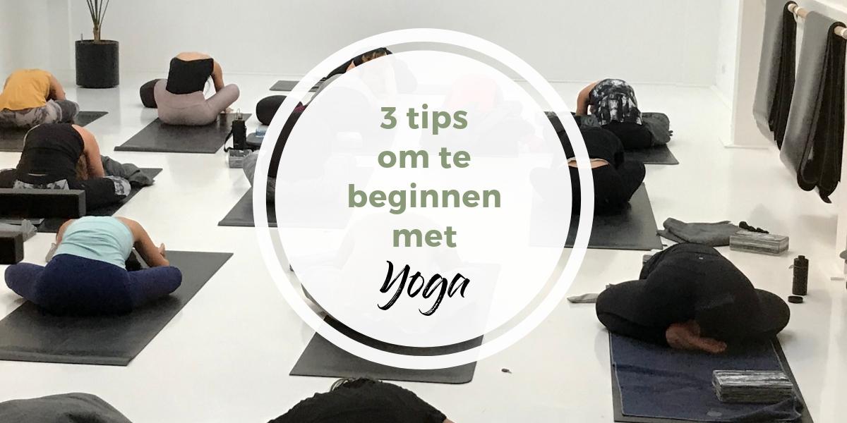 3 Tips om te beginnen met yoga