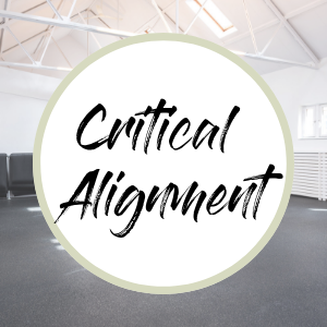 Critical alignment