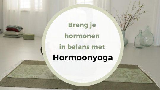 Breng je hormonen in balans met hormoonyoga